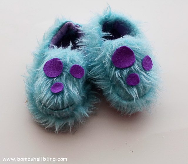 Monsters Inc Slippers-5