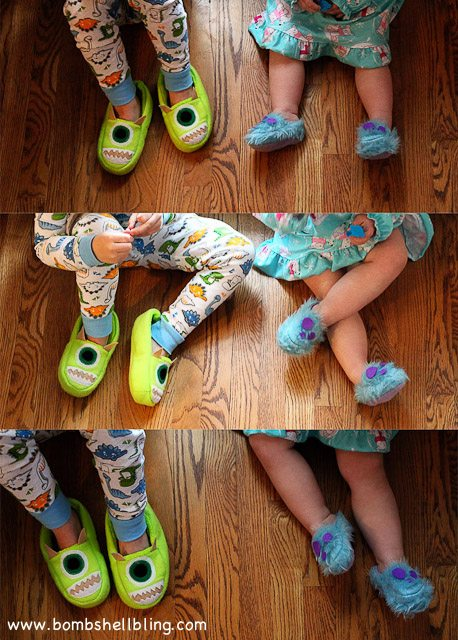 Monsters Inc Slippers-7
