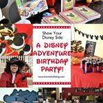 Disney Adventure Birthday Party