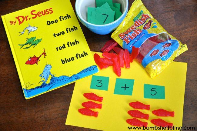 Dr Seuss Inspired Preschool Math Game