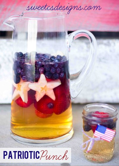 4th Patriotic-punch-this-is-perfect-for-4th-of-July-or-a-homecoming-So-easy-to-make-and-delicious-pin-now-and-save-for-your-summer-bbqs