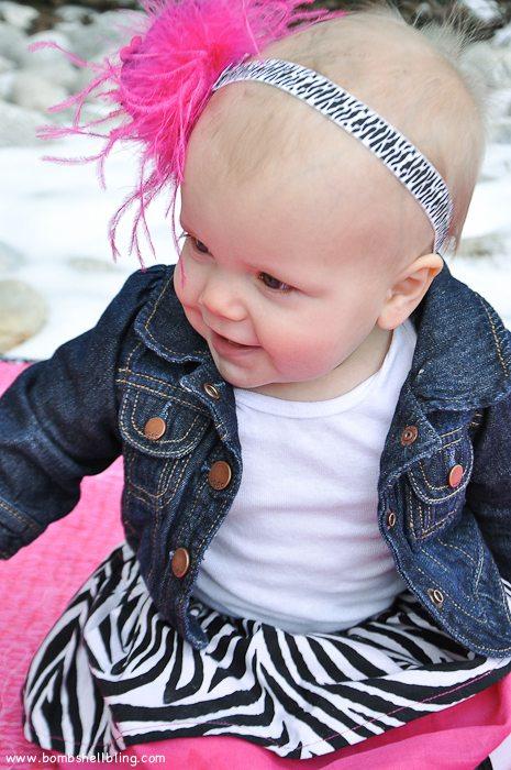 Punk Rock Baby Headband-10