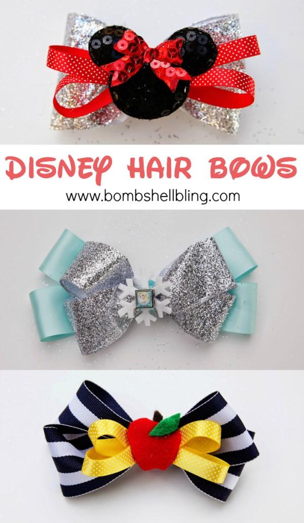 Disney Hair Bows
