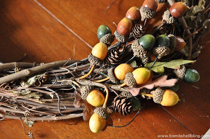 Fall Hedgehog Wreaths-2