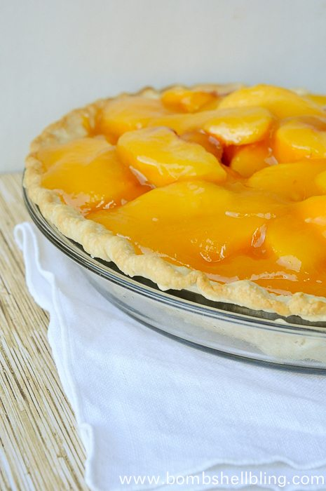 Fresh Peach Pie Recipe - YUM!