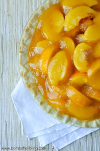 This fresh peach pie is super simple to make and DELICIOUS!!!