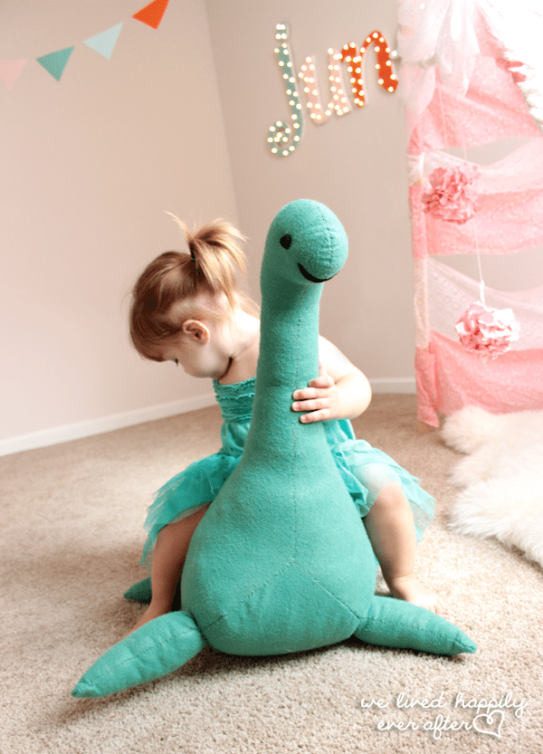 *Loch Ness Monster Stuffed Animal Tutorial & Pattern 10