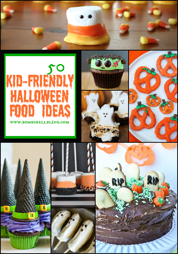 50 kidfriendly halloween food ideas