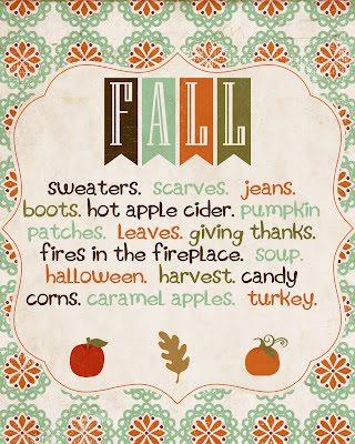 Free Fall Printables Fall-Printable