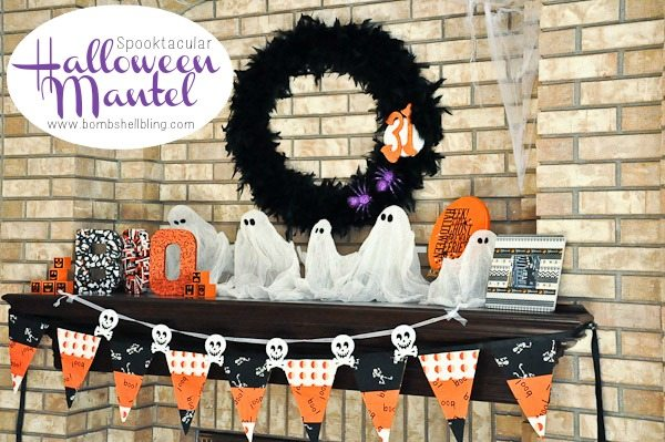 Spooktacular Halloween Mantel from Bombshell Bling