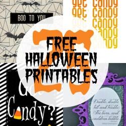 25+ Free Halloween Printables