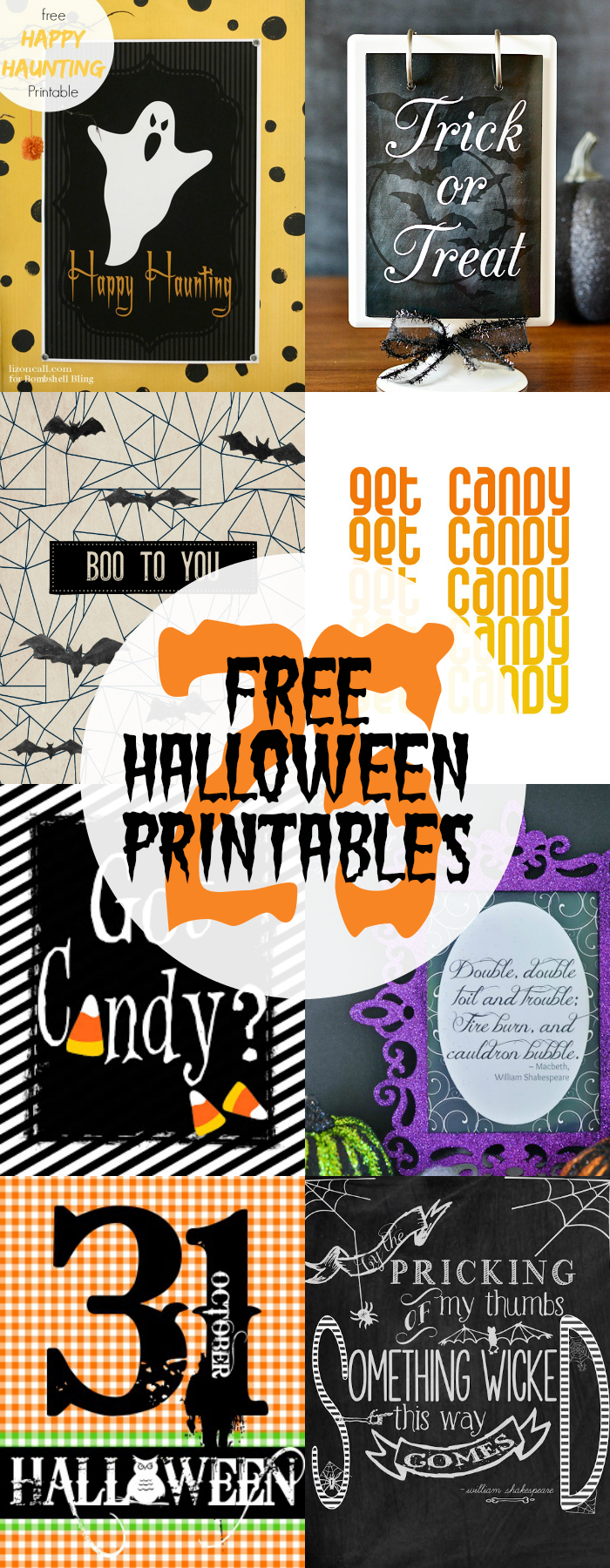 It's just a graphic of Crazy Free Printable Halloween Decorations