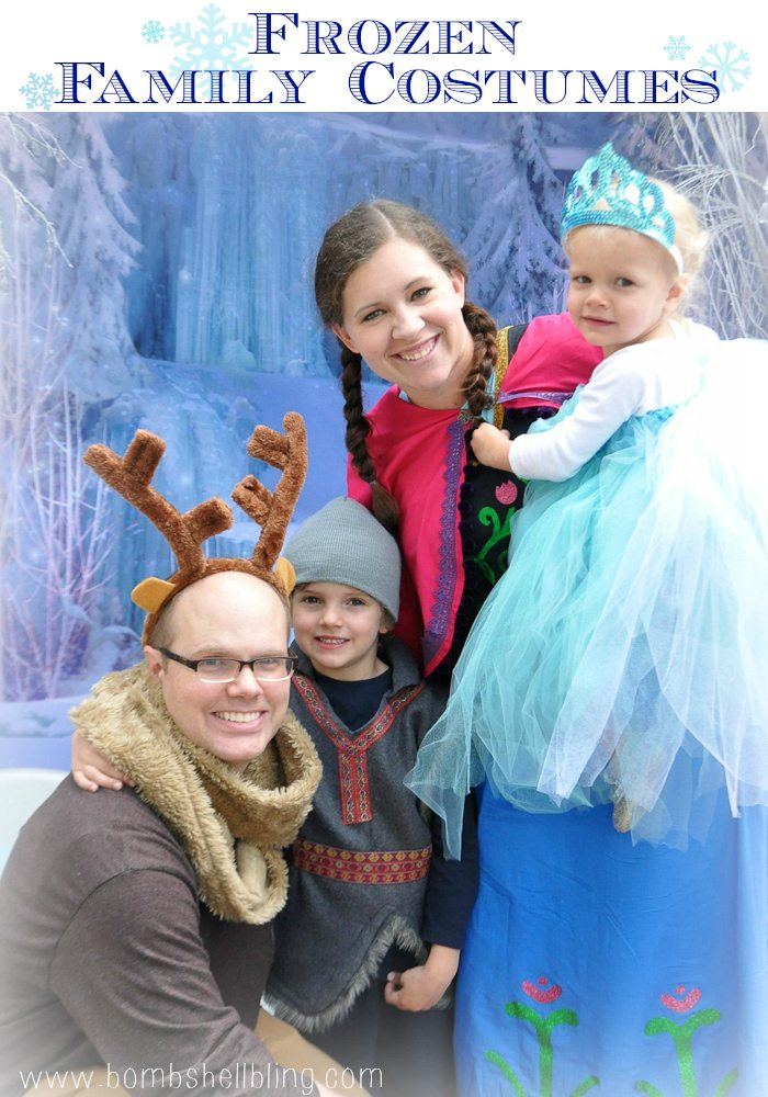 FROZEN Family Costumes from Bombshell Bling
