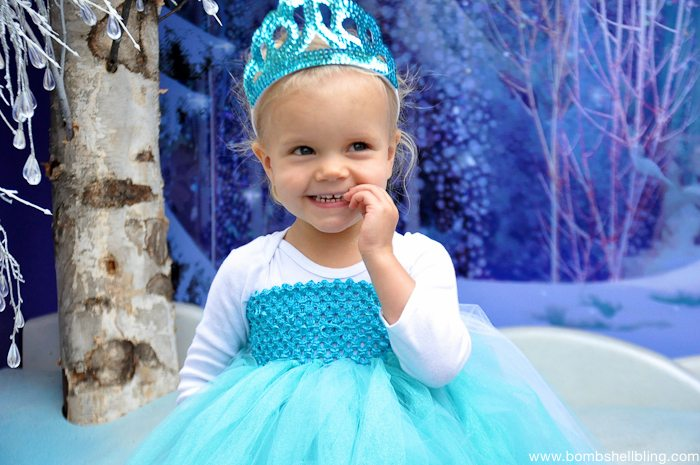Elsa Frozen Tutu Dress Tutorial by Sarah Westover Mckenna