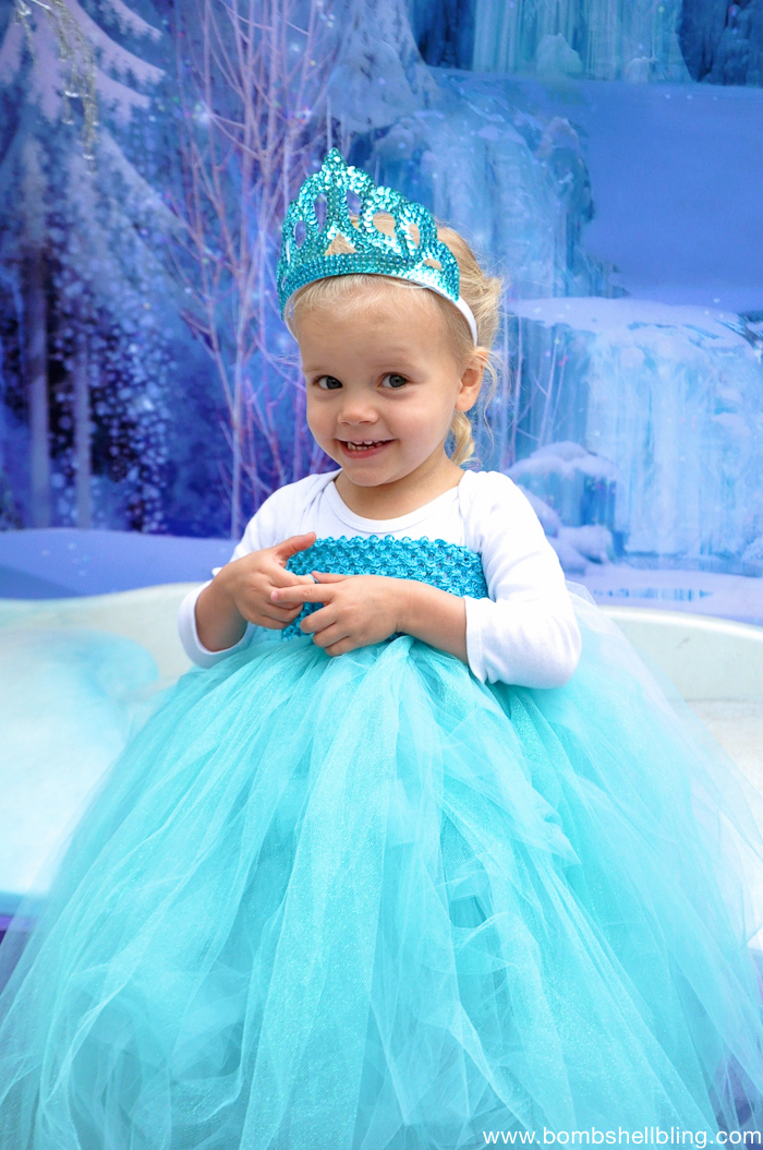 Frozen Family Costumes Elsa Tutu Dress -3