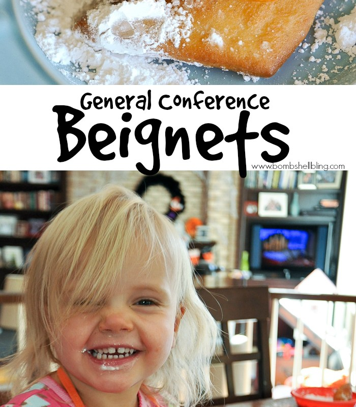 New Orleans Beignets also known as General Conference Beignets