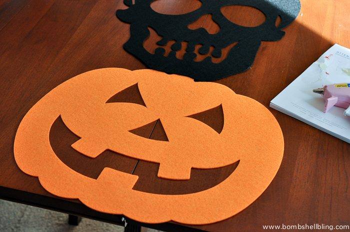 Halloween Felt Table Runner Tutorial-3
