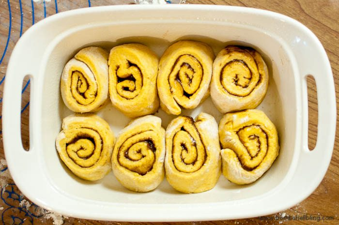 This recipe for pumpkin cinnamon rolls is AMAZING!