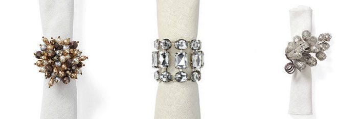 A Set of Gorgeous Napkin Rings!