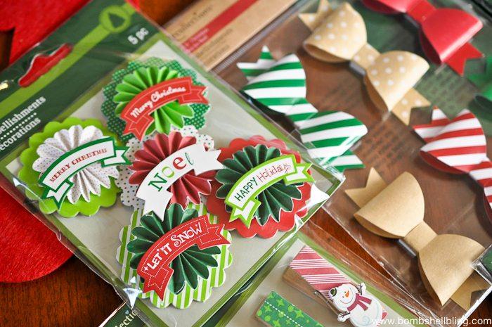 Chicken Wire Christmas Card Holder-2