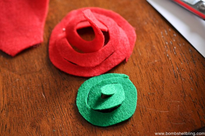 How to Make Swirled Felt Flowers-2