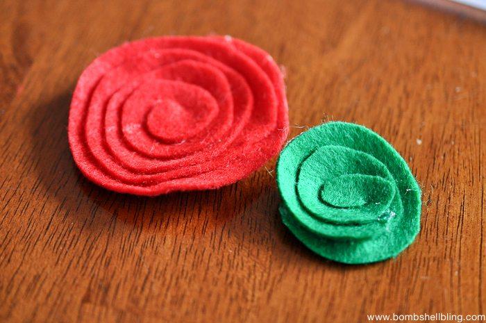 How to Make Swirled Felt Flowers-4