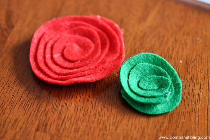 How to Make Swirled Felt Flowers-4