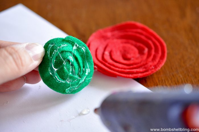 How to Make Swirled Felt Flowers-5