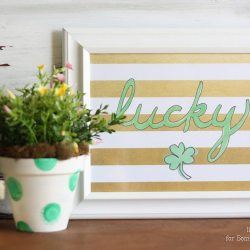 """Lucky"" St. Patrick's Day Free Printable"