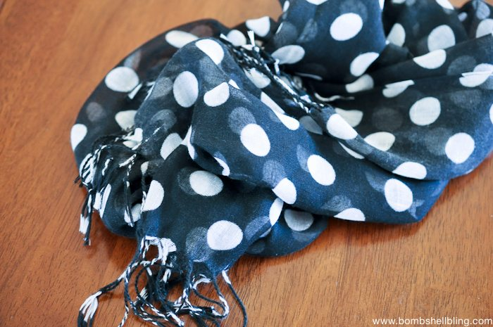 How to Sew a Toddler Infinity Scarf-1