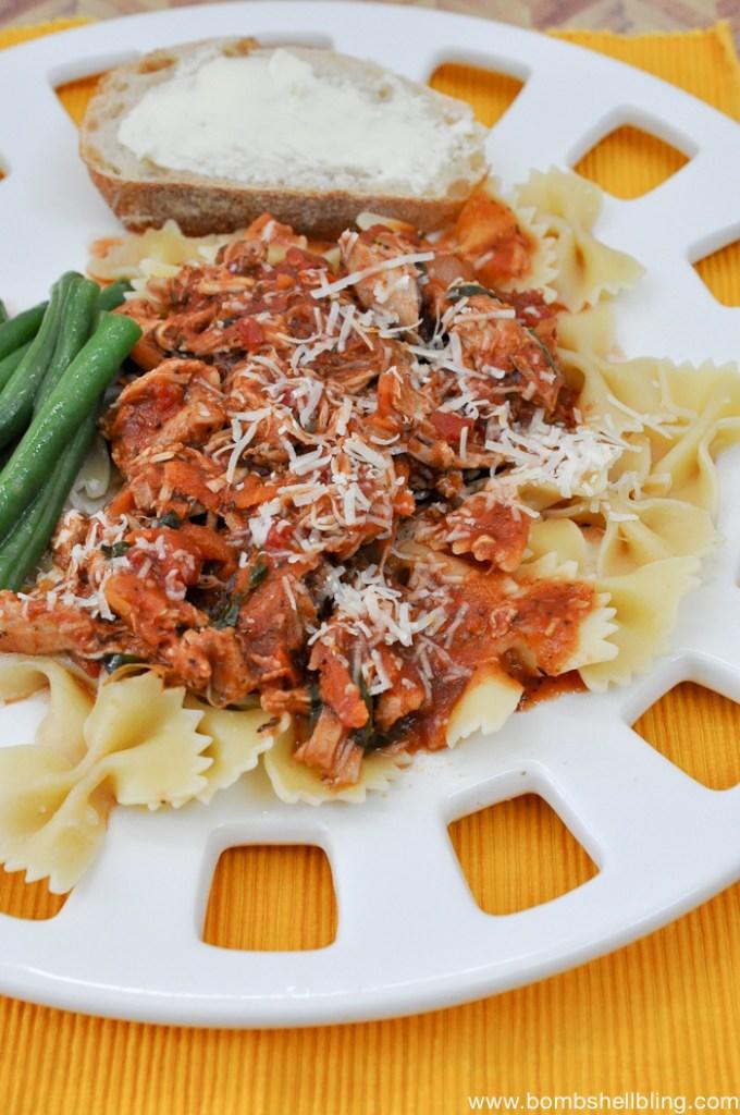 Braised Italian Chicken Recipe