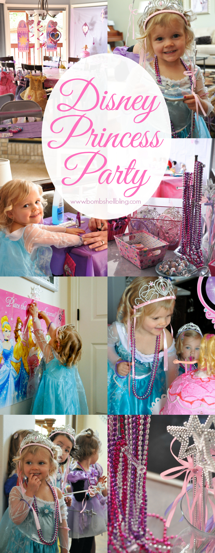 This Disney Princess Bippity Boppity Boutique party is DARLING!!