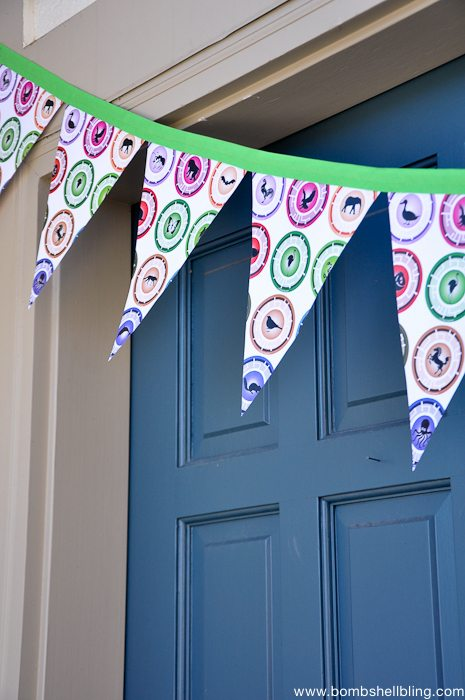 Wild Kratts Birthday Party door banner close up