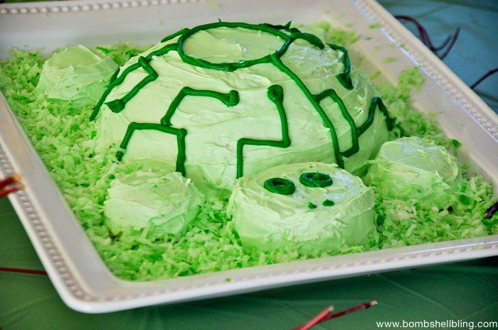 How to Make a Wild Kratts Tortuga Cake