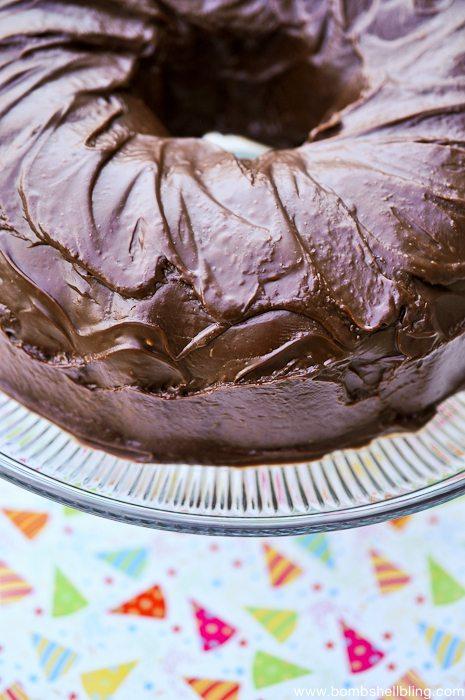 Decadent Chocolate Cake-1