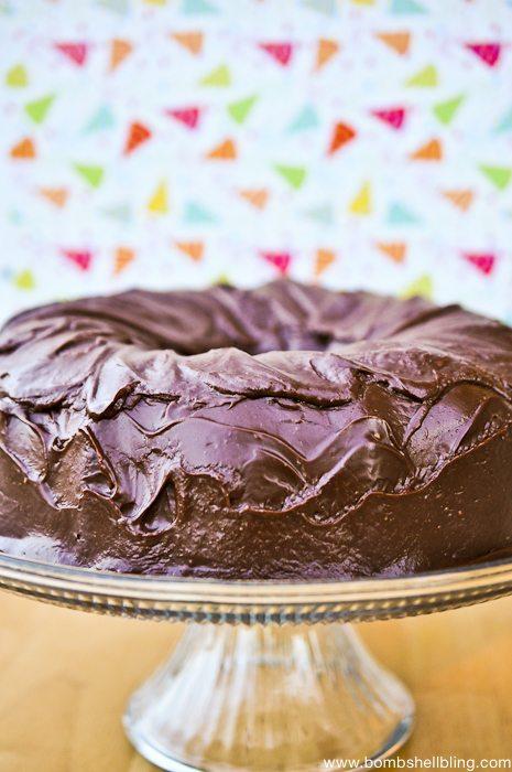 Decadent Chocolate Cake-2