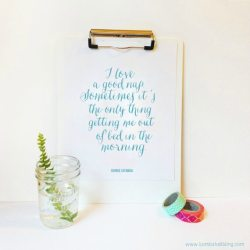 George Costanza Nap Quote Printable