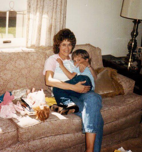 Mom&SSnuggleonCouch