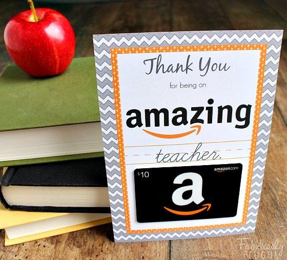 *amazing amazon-gift-card-teacher-gift