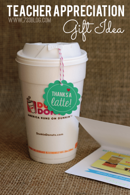 *dunkin donuts teacher-appreciation-gift