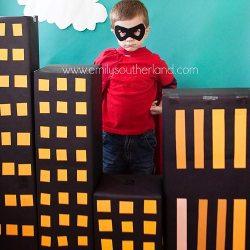 A SuperHero Birthday Party