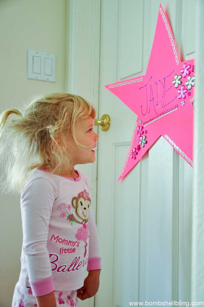 """Dressing Room"" Stars for plays and recitals ---- SUCH a cute familiy tradition!!"