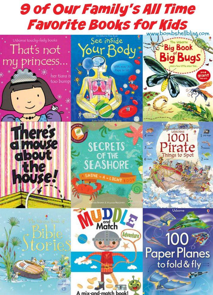 Top 9 Usborne Books