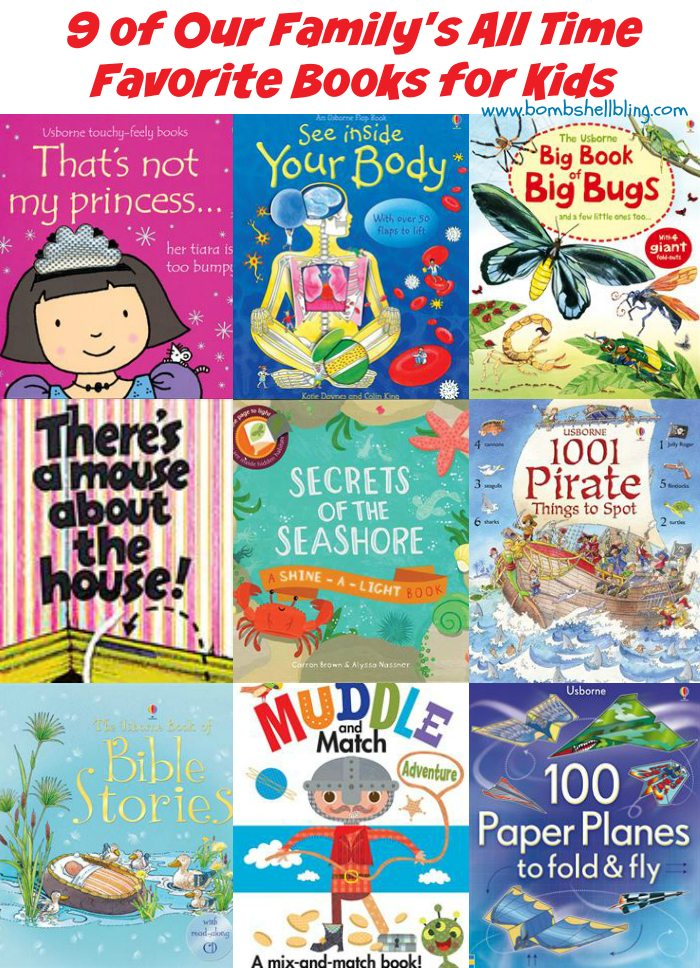 Top 9 Usborne Books