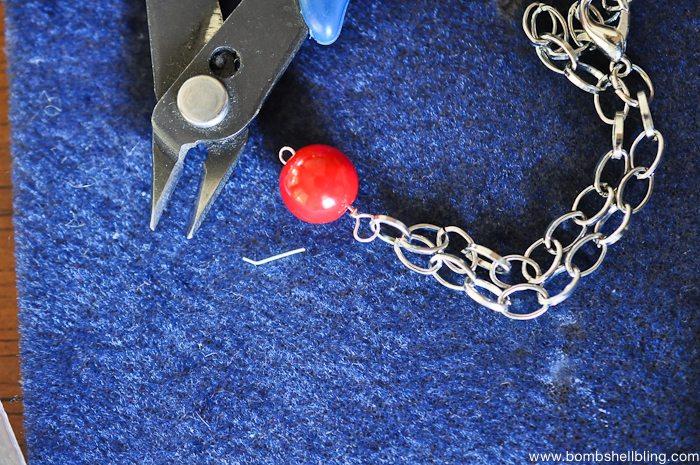 Patriotic Bauble Necklace Tutorial-12