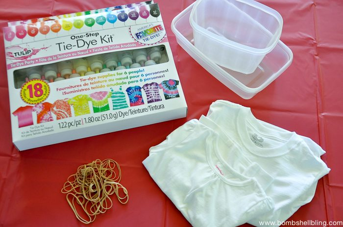 Tie Dye with Kids