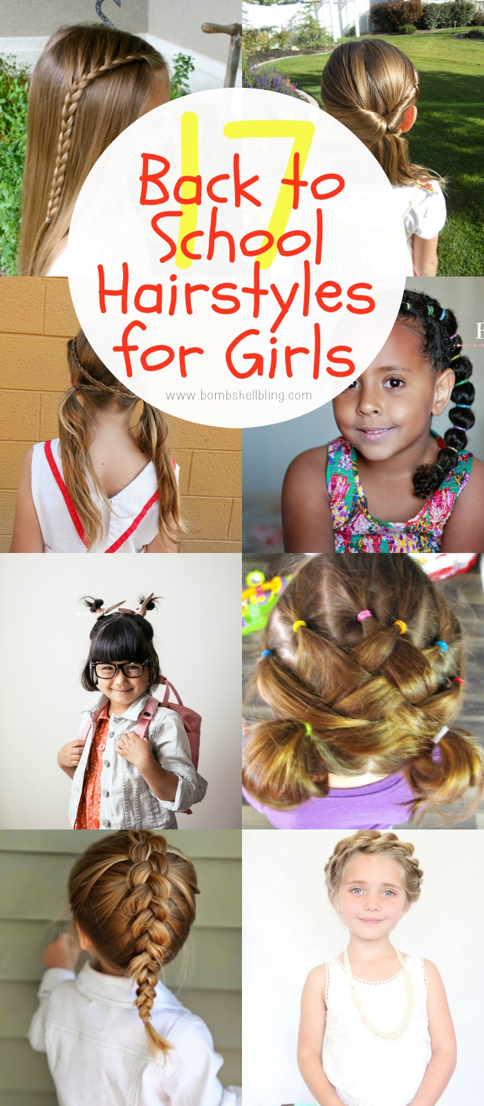 Hairstyles For Girls 17 Simple And Fun Back To School Ideas