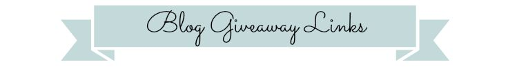 Blog Giveaway Links Banner
