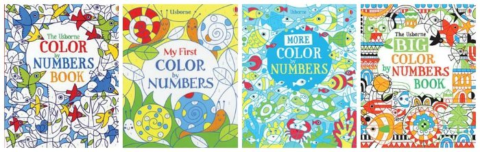 Color by Number Usborne Books
