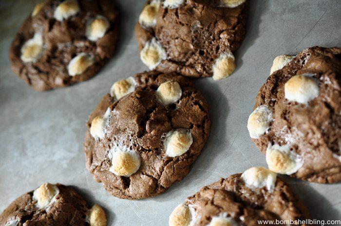 S'mores Oreo Stuffed Cookies-6